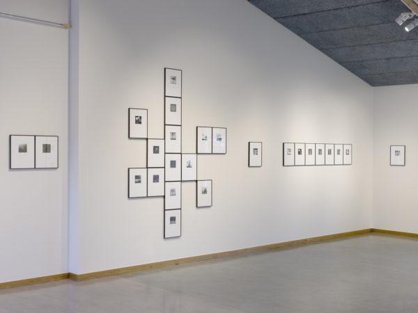 Utställningen Phone Diariy på Utställningshallen Öckerö Bibliotek 2018